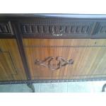 Долен шкаф с инкрустация върху стъклото - Ш093