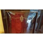 Витраж с обемни стъкла ръчна изработка - Ш041